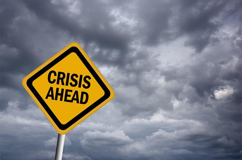 crisis sign
