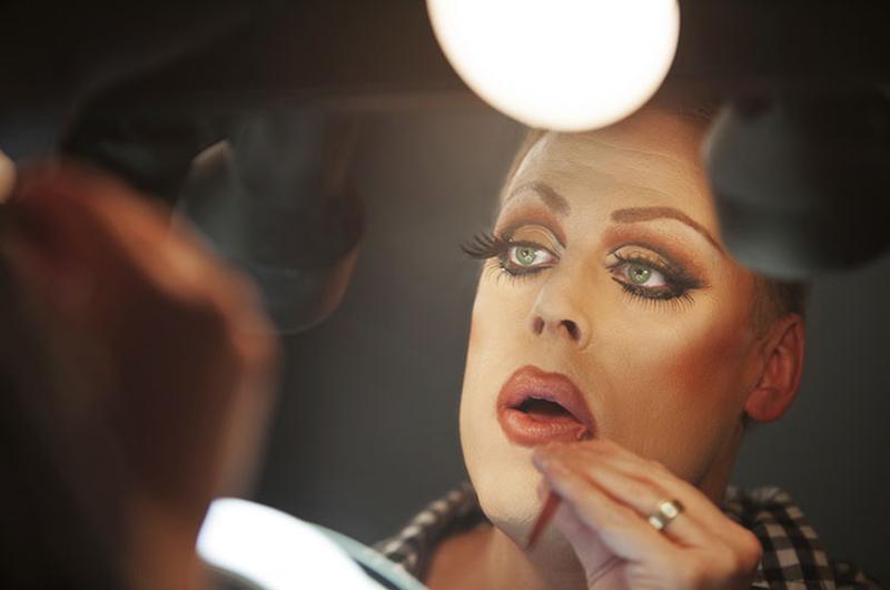 cross-dresser makeup