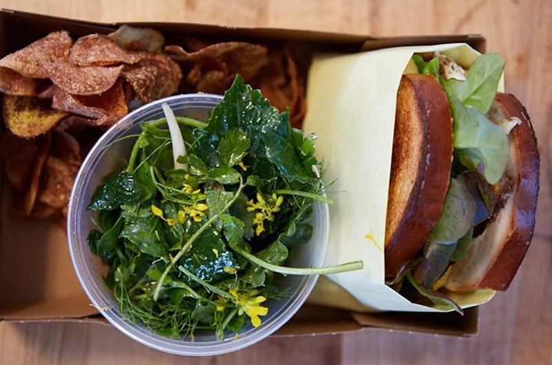 dads luncheonette salad sandwich