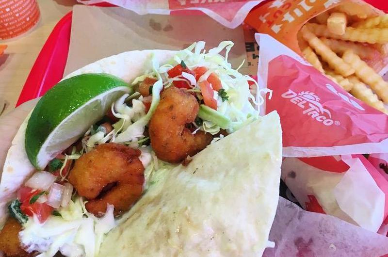 del taco tacos fries