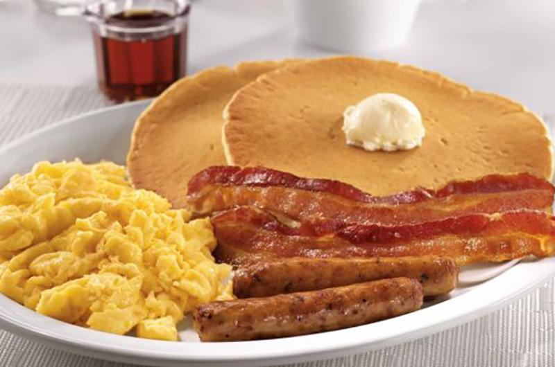 Denny's all-day dinner