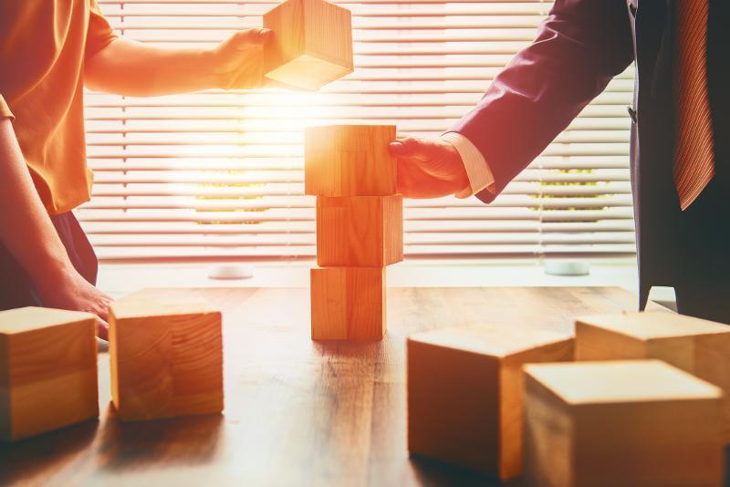 development business building blocks