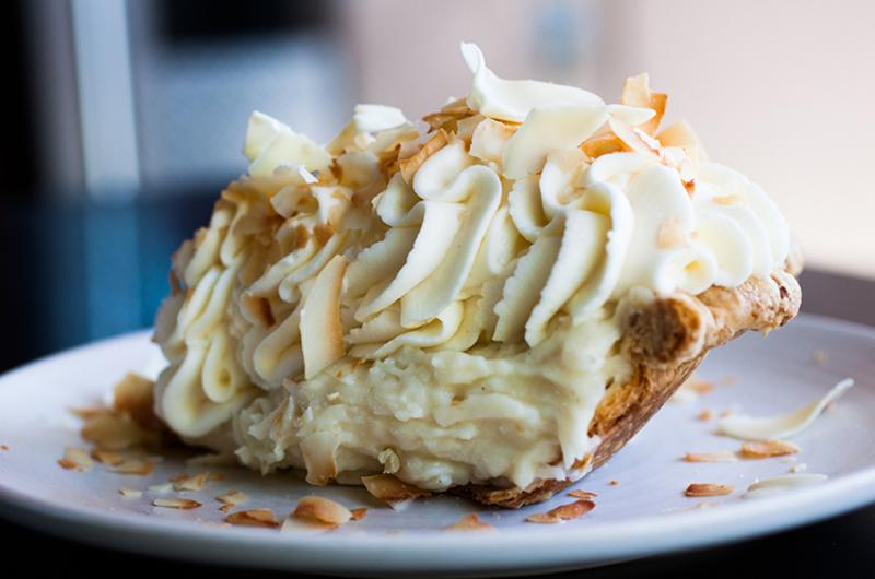 Triple Coconut Cream Pie, Dahlia Bakery, Seattle