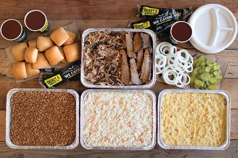 dickeys tailgate party pack