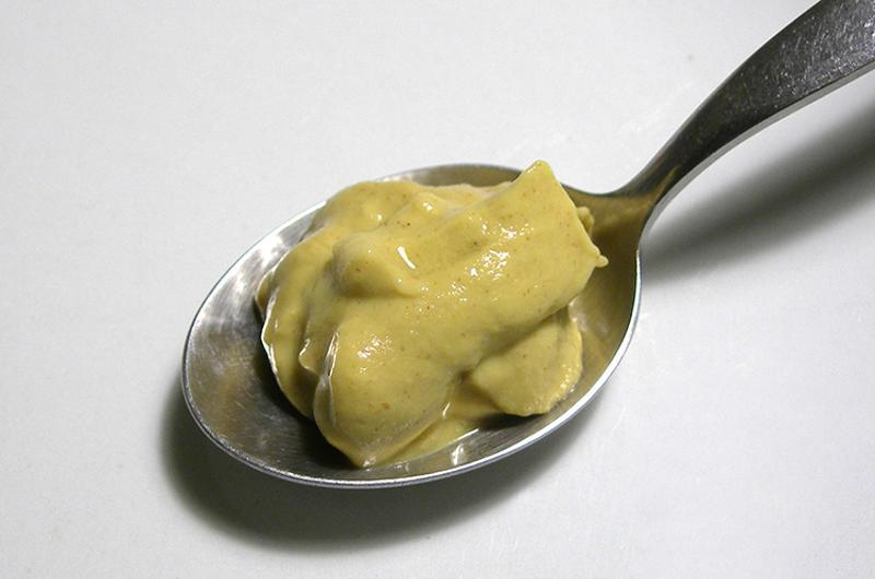dijon mustard spoon