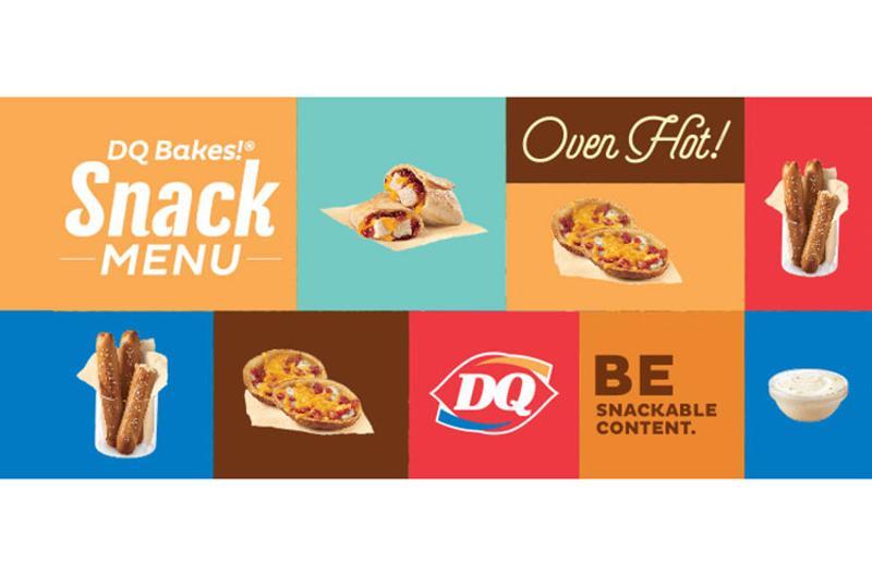 dq bakes snacks menu
