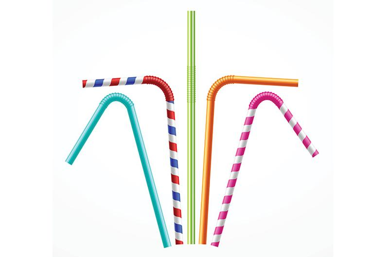 drinking straws graphic