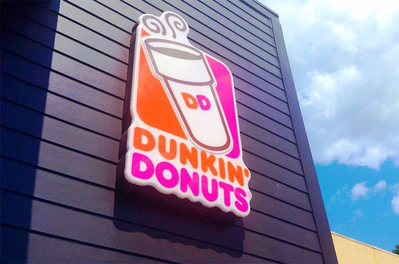 dunkin donuts exterior