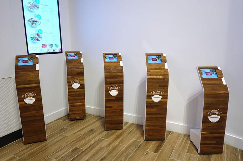 Eatsa kiosks