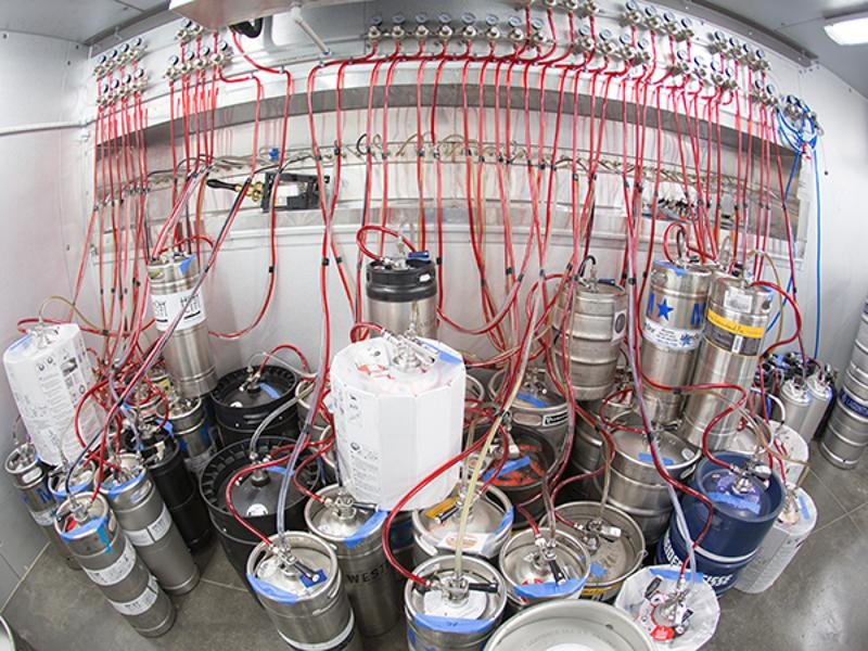 edmunds oast beer kegs