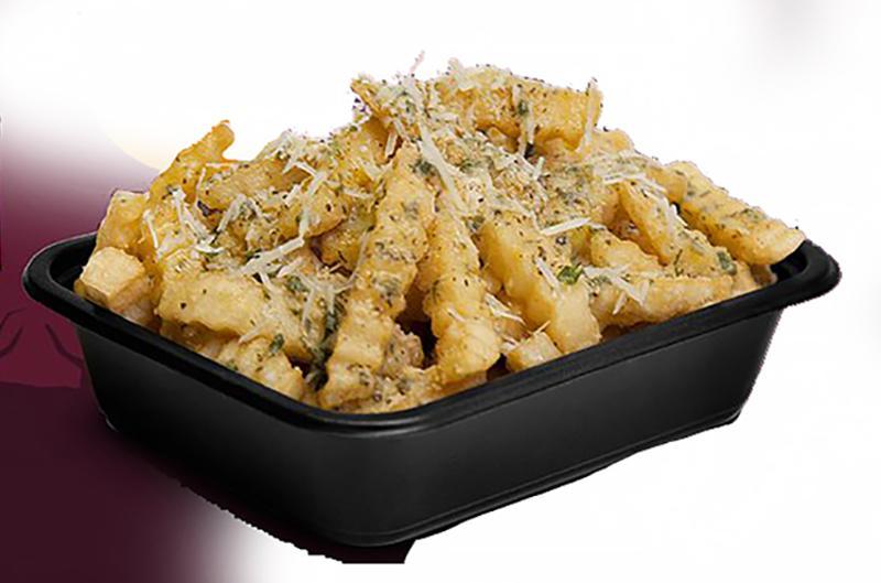 eegees garlic parmesan fries