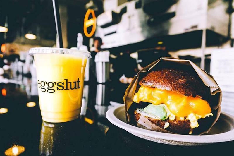 eggslut juice sandwich