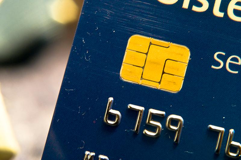 EMV credit card