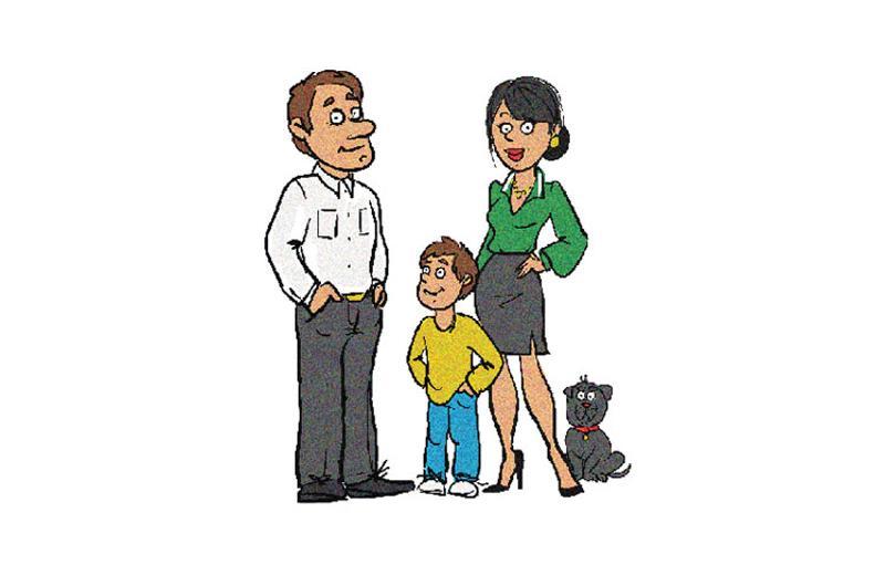 family graphic