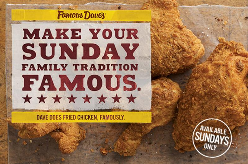 famous daves fried chicken