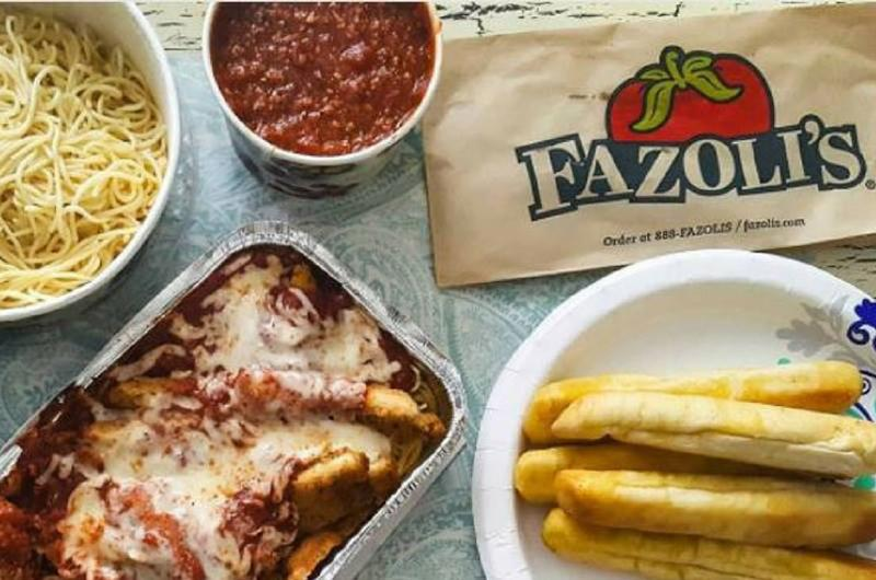 fazolis food