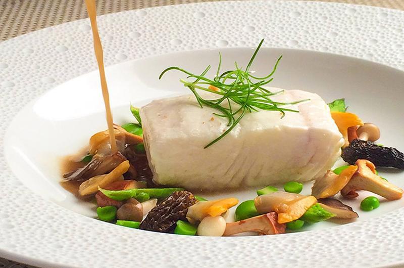 fine dining fish