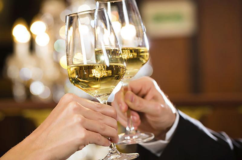 fine dining wine