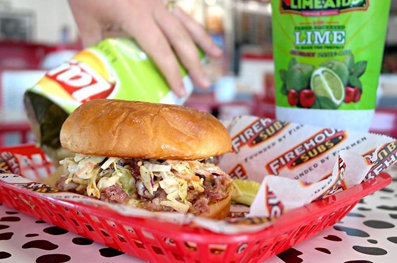 firehouse subs slaw sandwich