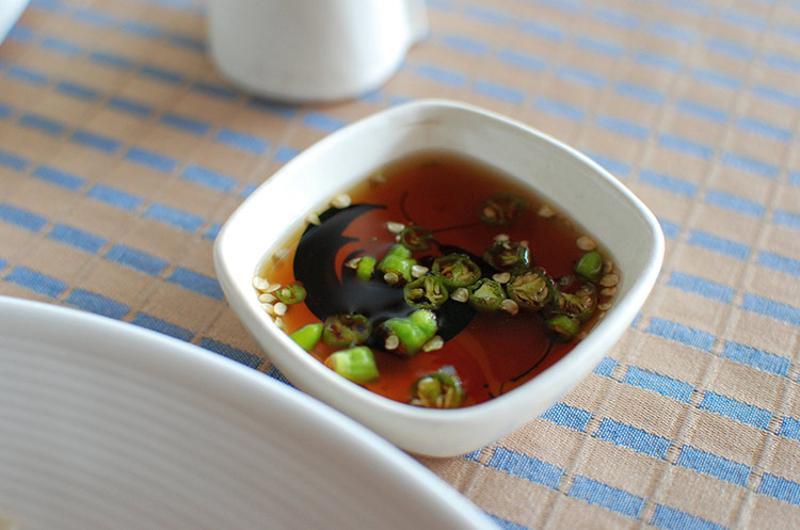 fish sauce dish