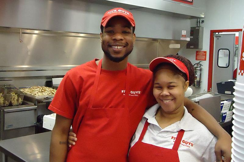 five guys employees