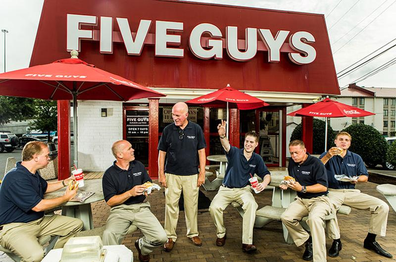 five guys family exterior