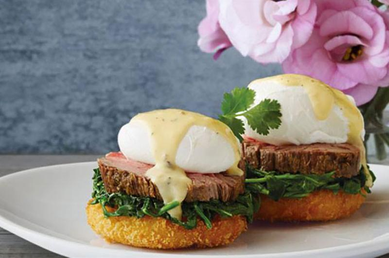 flemings eggs benedict