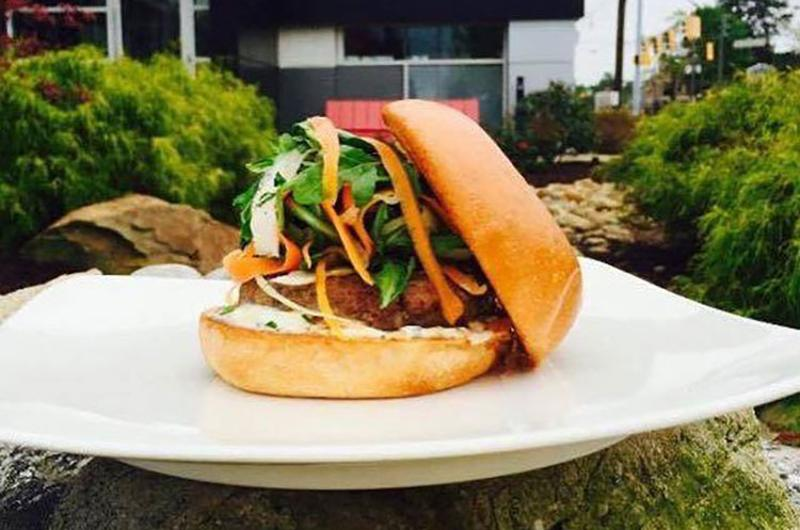 flip burger boutique spring lamb