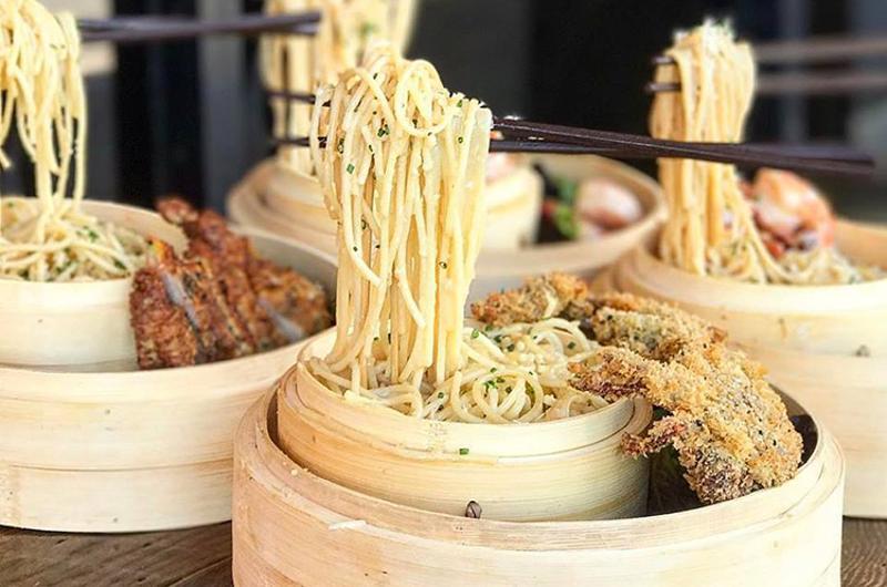 floating noodles