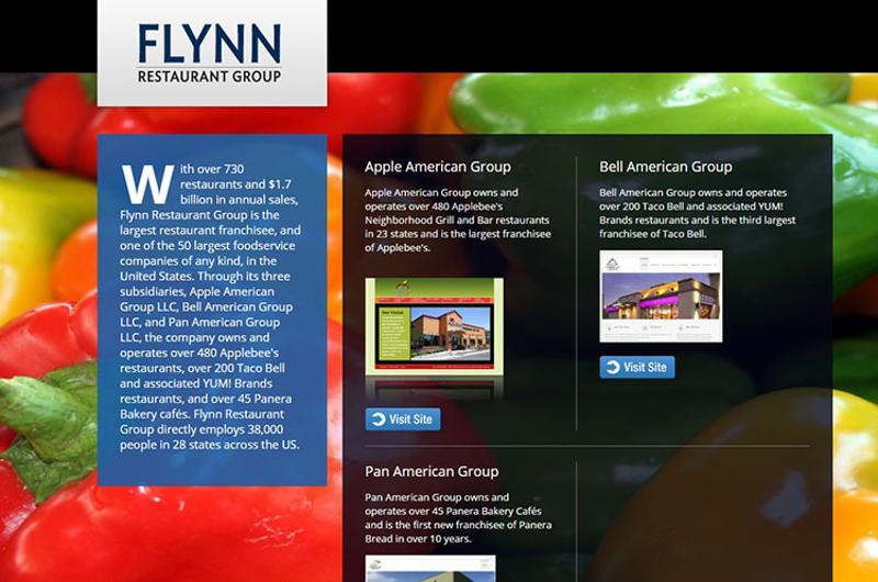 flynn restaurant group screenshot
