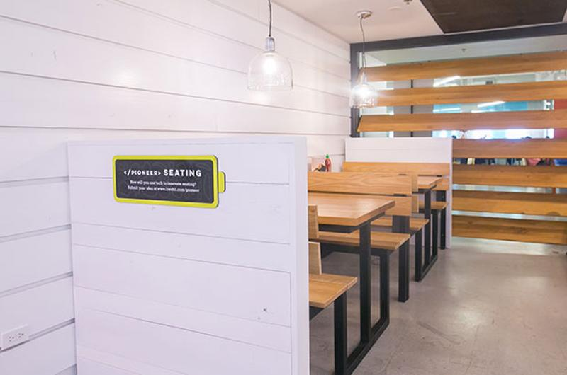 freshii seating