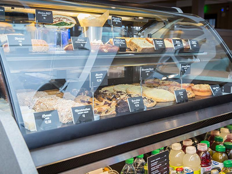 fridays pastry case