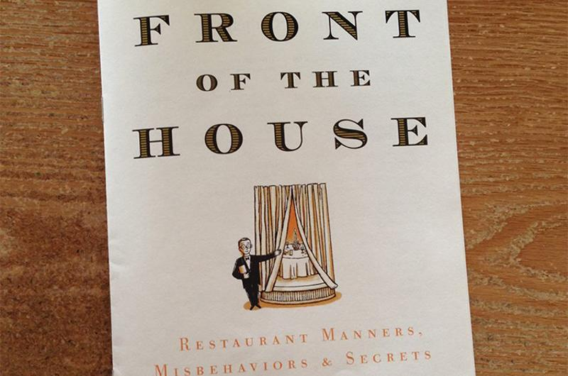 front of house manners