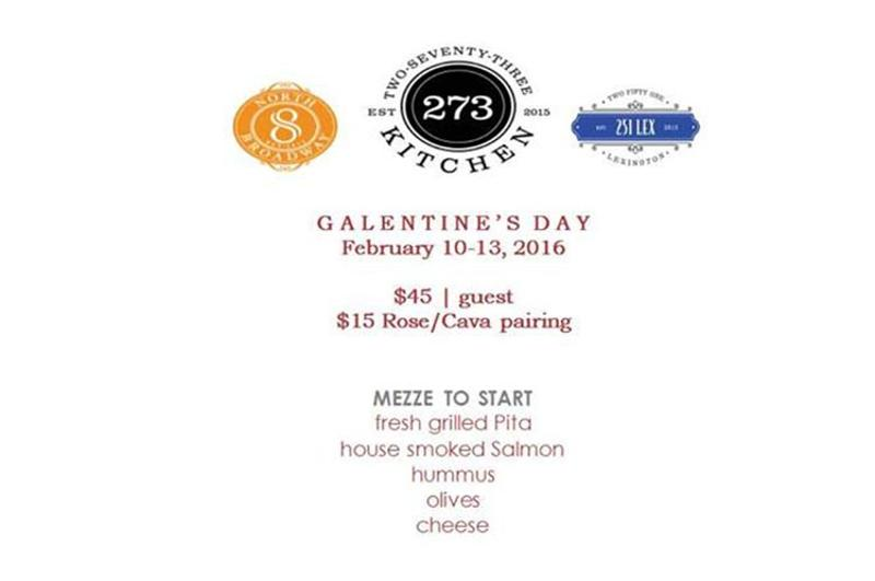 galentines day dinner menu