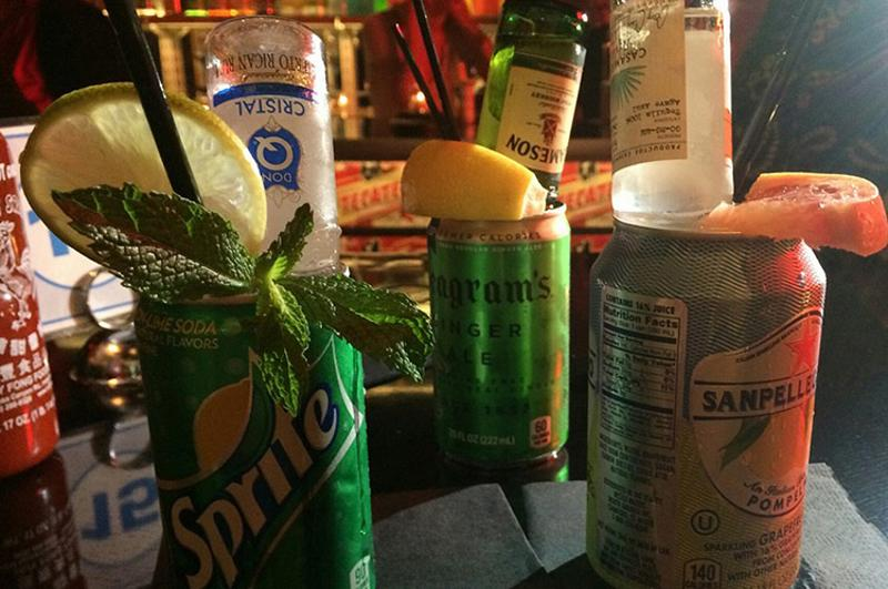 genuine liquorette cans