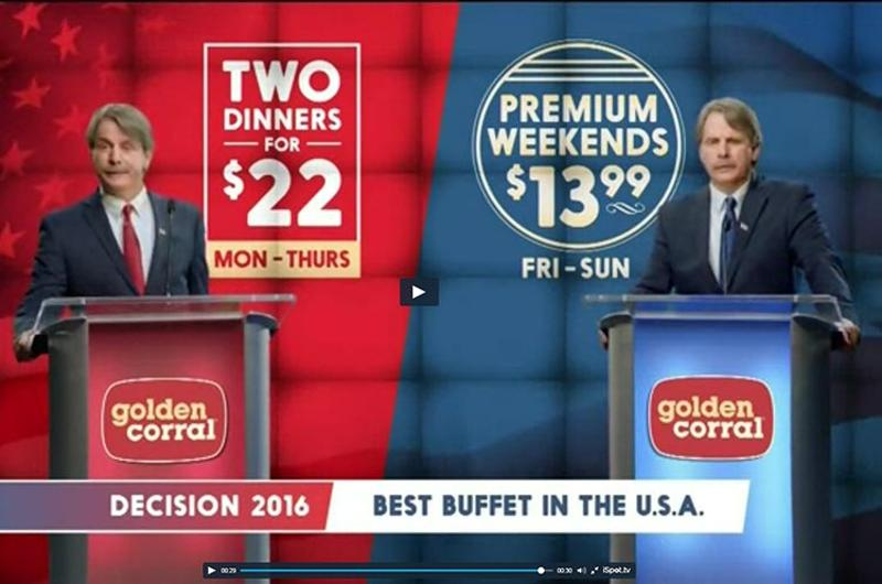 golden corral commercial
