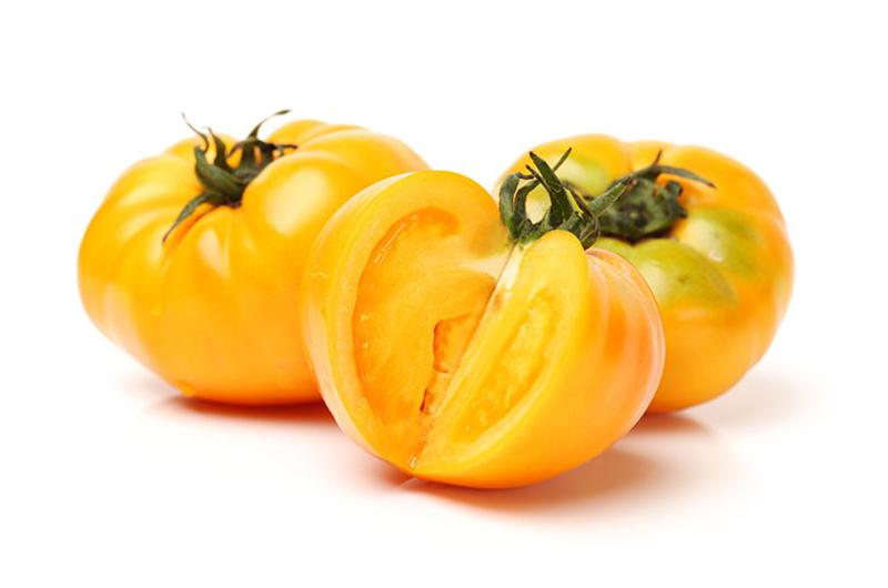 golden yellow tomatoes