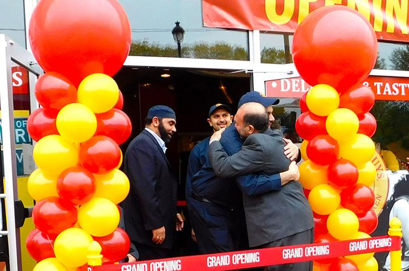 grand opening Halal Guys