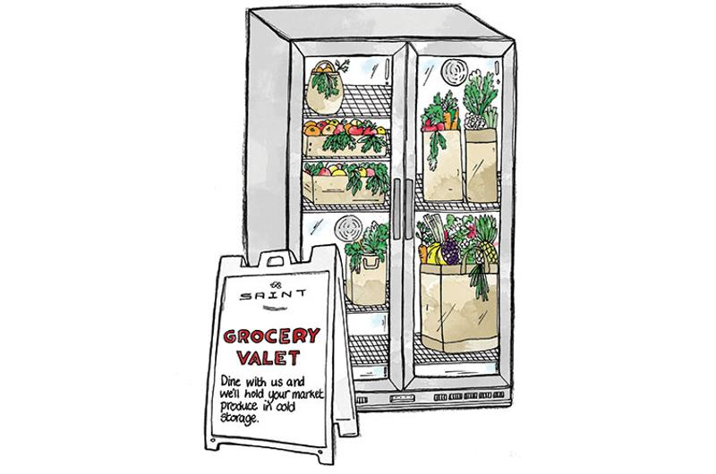 grocery valet