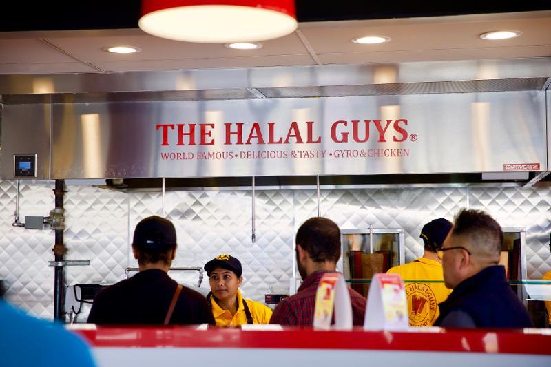 halal guys sign