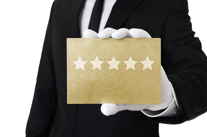 hand business 5 star