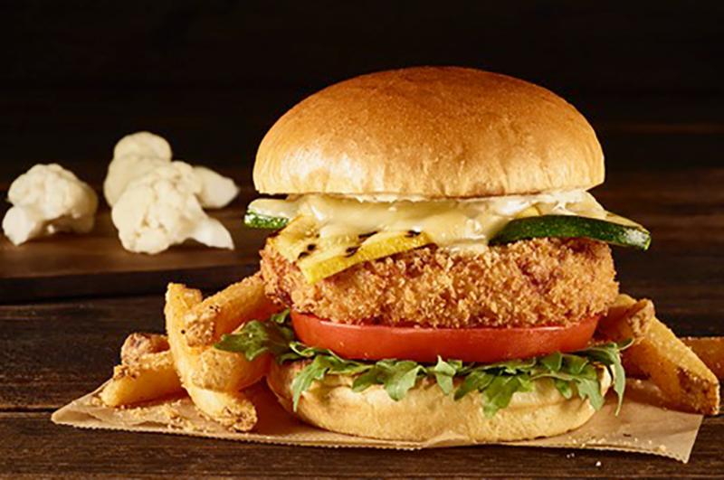 Hard Rock Cafe's veggie burger