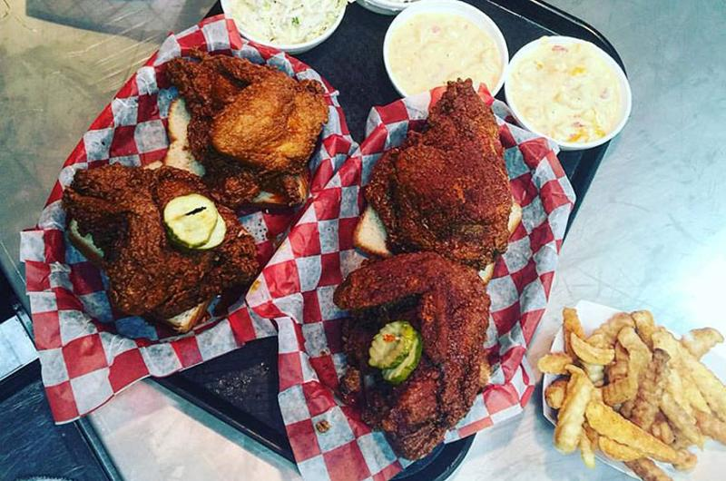hattie b hot chicken