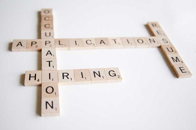 hiring scrabble tiles
