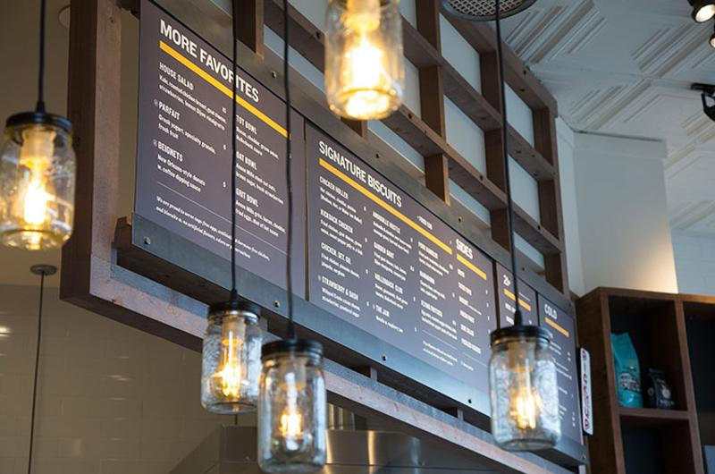 holler dash menu board