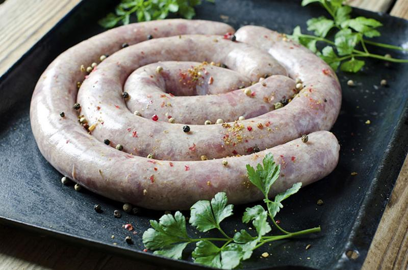 homemade pork sausage
