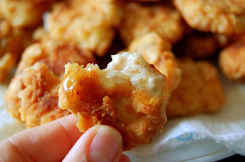 honey chicken nuggets