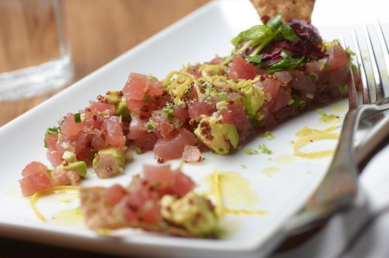 Honey Salt tuna dish