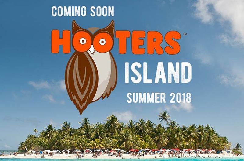 hooters island