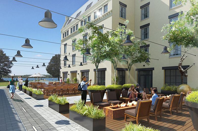 hotel indigo patio